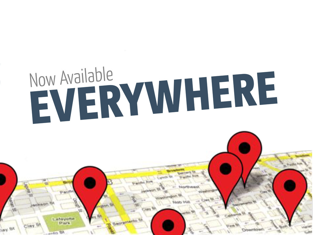 EVERYWHERE Now Available