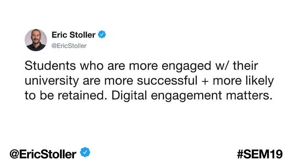 @EricStoller #SEM19
