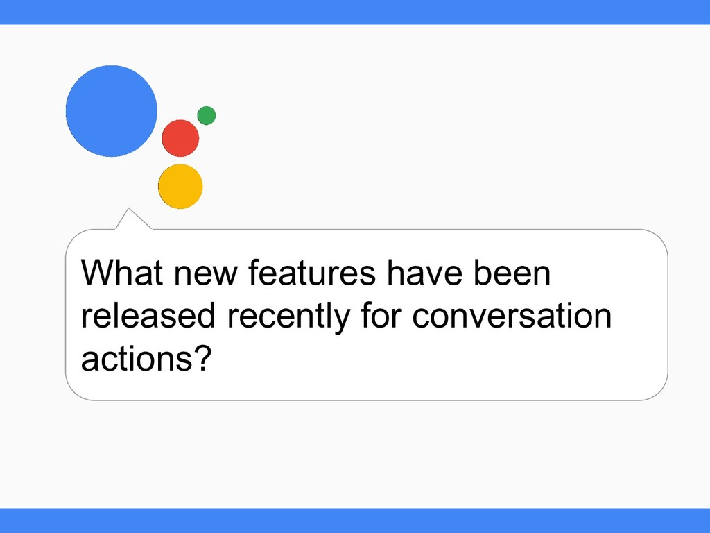 What new features have been released recently f...