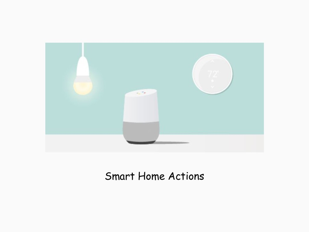 Smart Home Actions