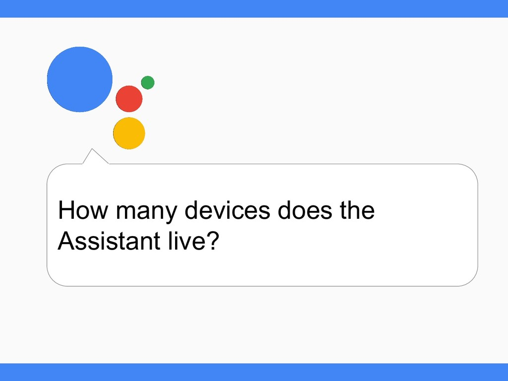 How many devices does the Assistant live?