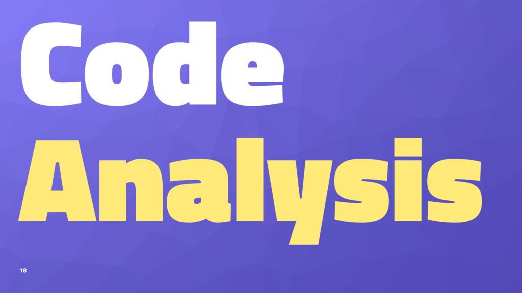Code Analysis 18
