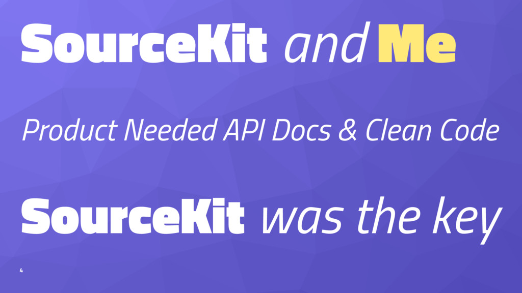 SourceKit and Me Product Needed API Docs & Clea...