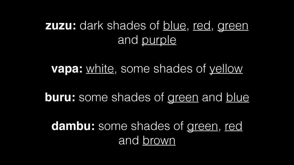 zuzu: dark shades of blue, red, green and purpl...