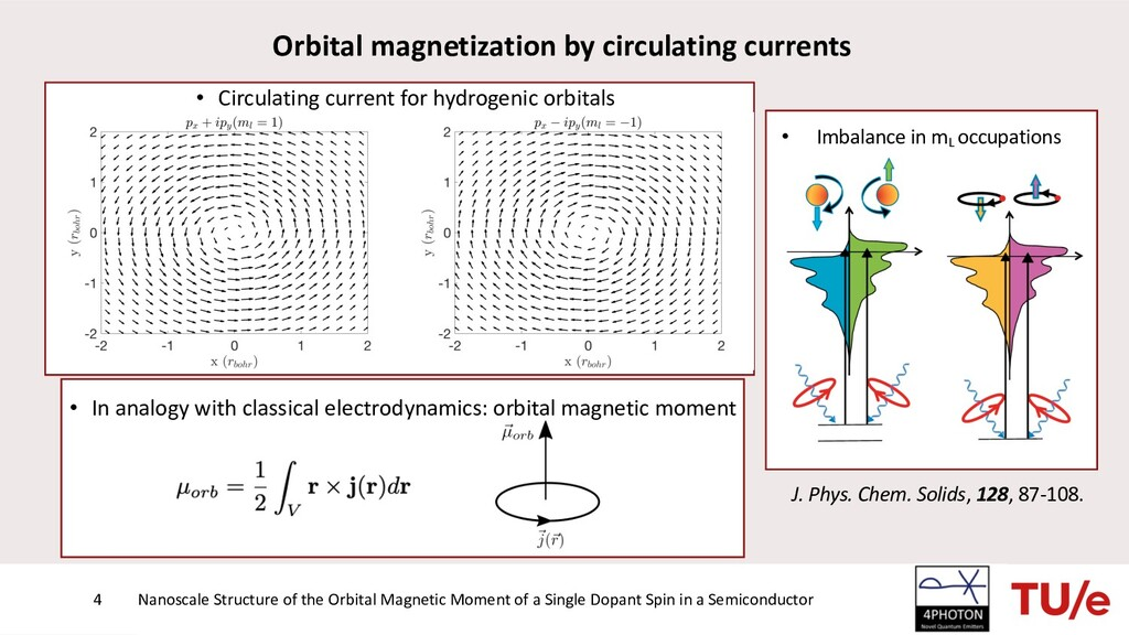 • In analogy with classical electrodynamics: or...