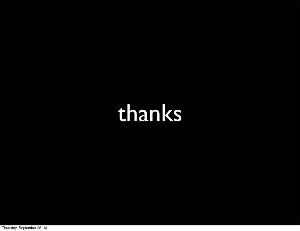thanks Thursday, September 26, 13