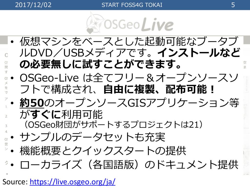 2017/12/02 START FOSS4G TOKAI 5 Source: https:/...
