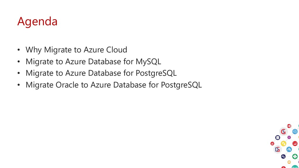 Agenda • Why Migrate to Azure Cloud • Migrate t...