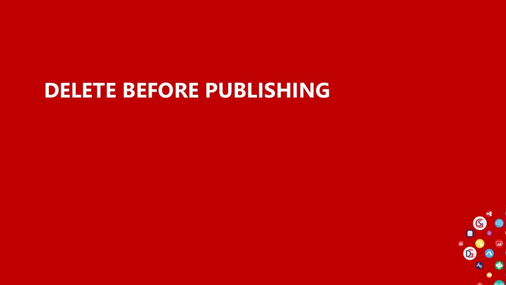 DELETE BEFORE PUBLISHING