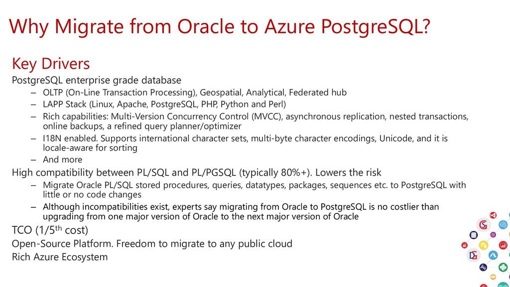 Why Migrate from Oracle to Azure PostgreSQL? Ke...
