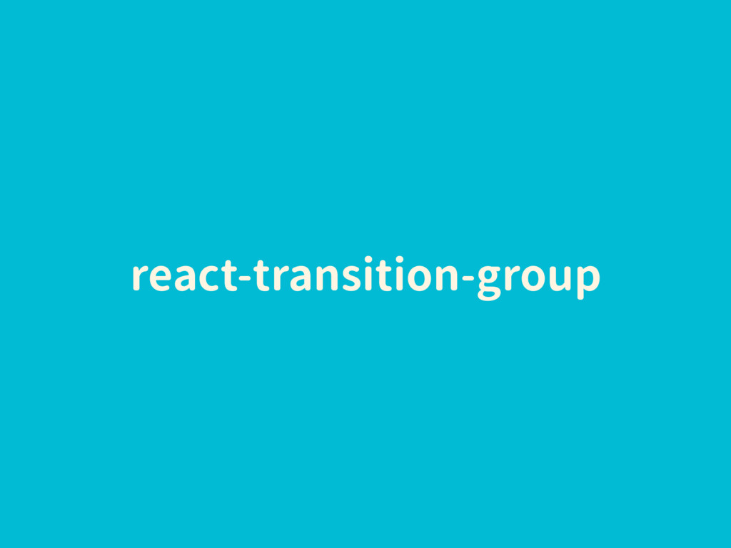 react-transition-group