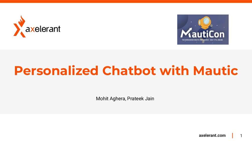 1 axelerant.com Personalized Chatbot with Mauti...