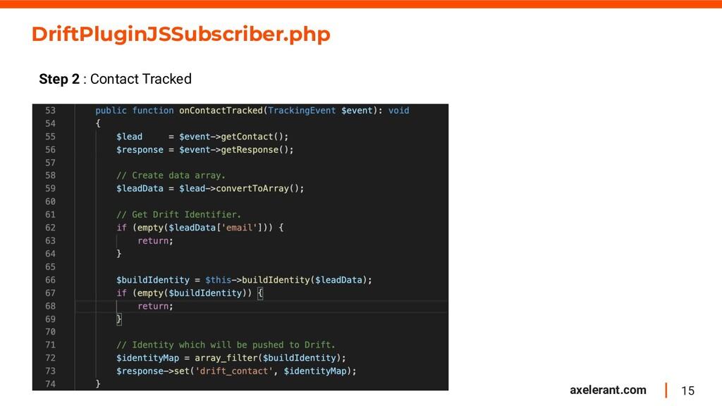 15 axelerant.com DriftPluginJSSubscriber.php St...