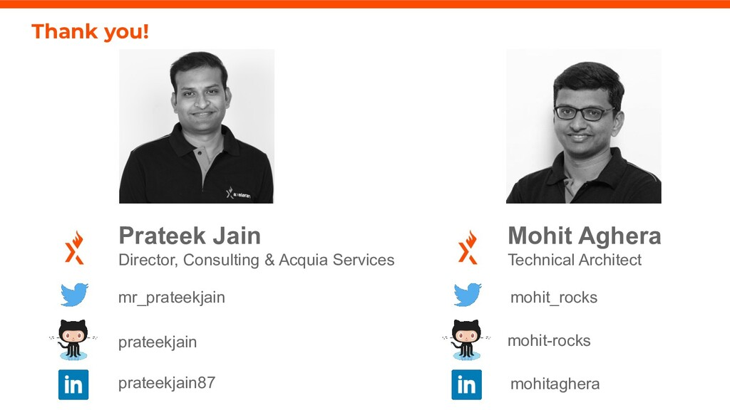 21 axelerant.com Prateek Jain Director, Consult...