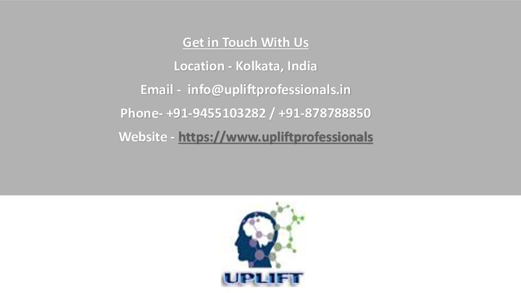 Get in Touch With Us Location - Kolkata, India ...
