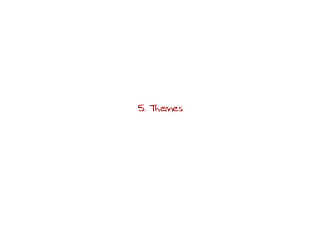 5. Themes
