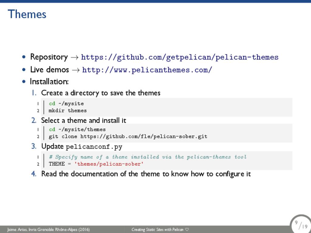 Themes • Repository → https://github.com/getpel...