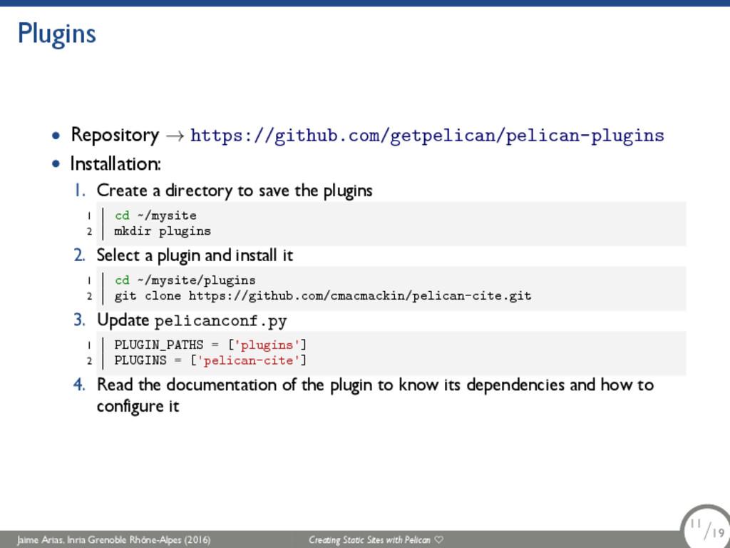 Plugins • Repository → https://github.com/getpe...