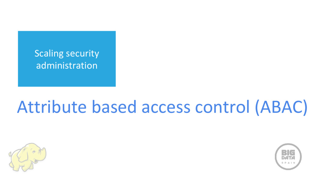 Attribute based access control (ABAC) Scaling s...