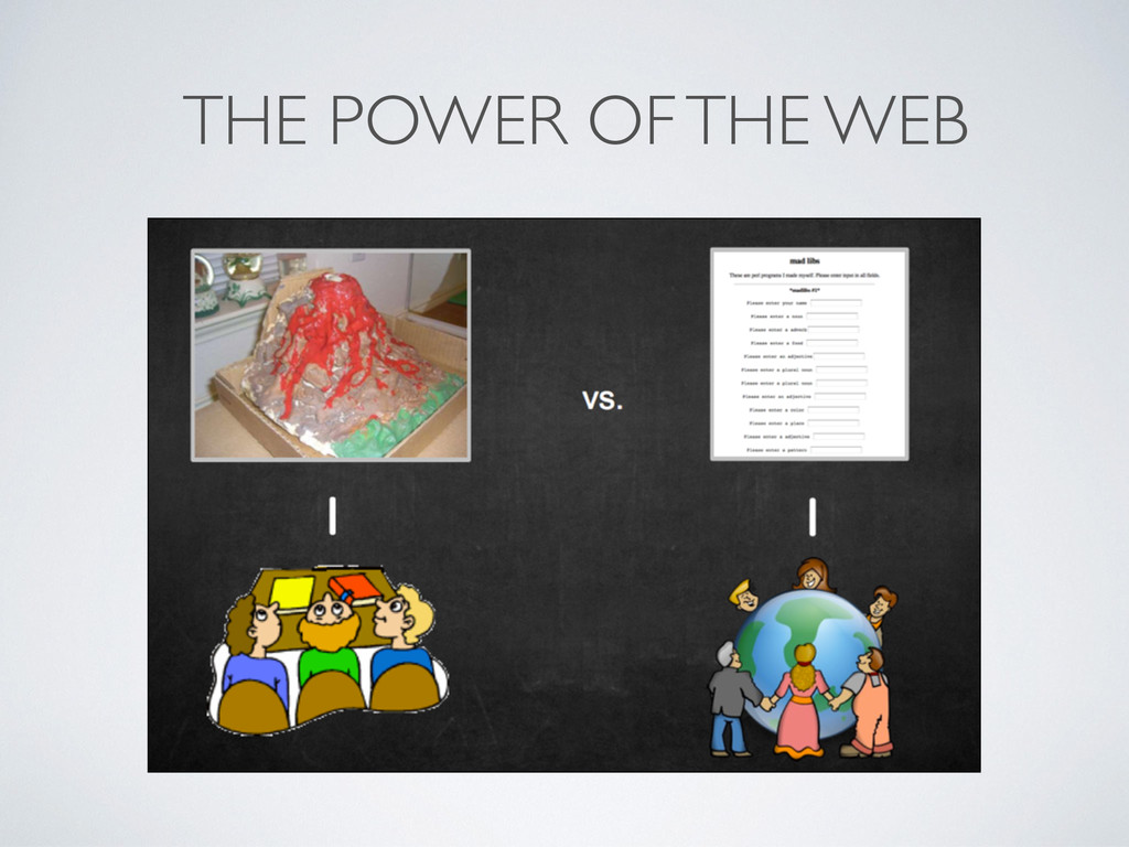 THE POWER OF THE WEB