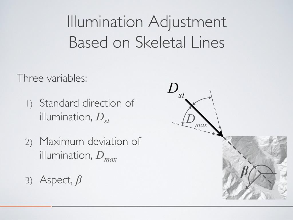 Illumination Adjustment