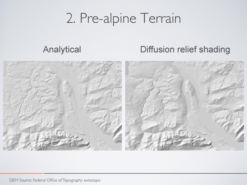 2. Pre-alpine Terrain Analytical Diffusion reli...