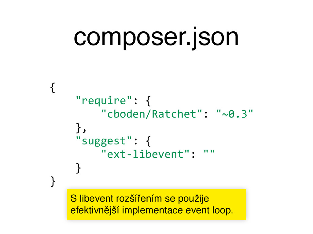 composer.json {	