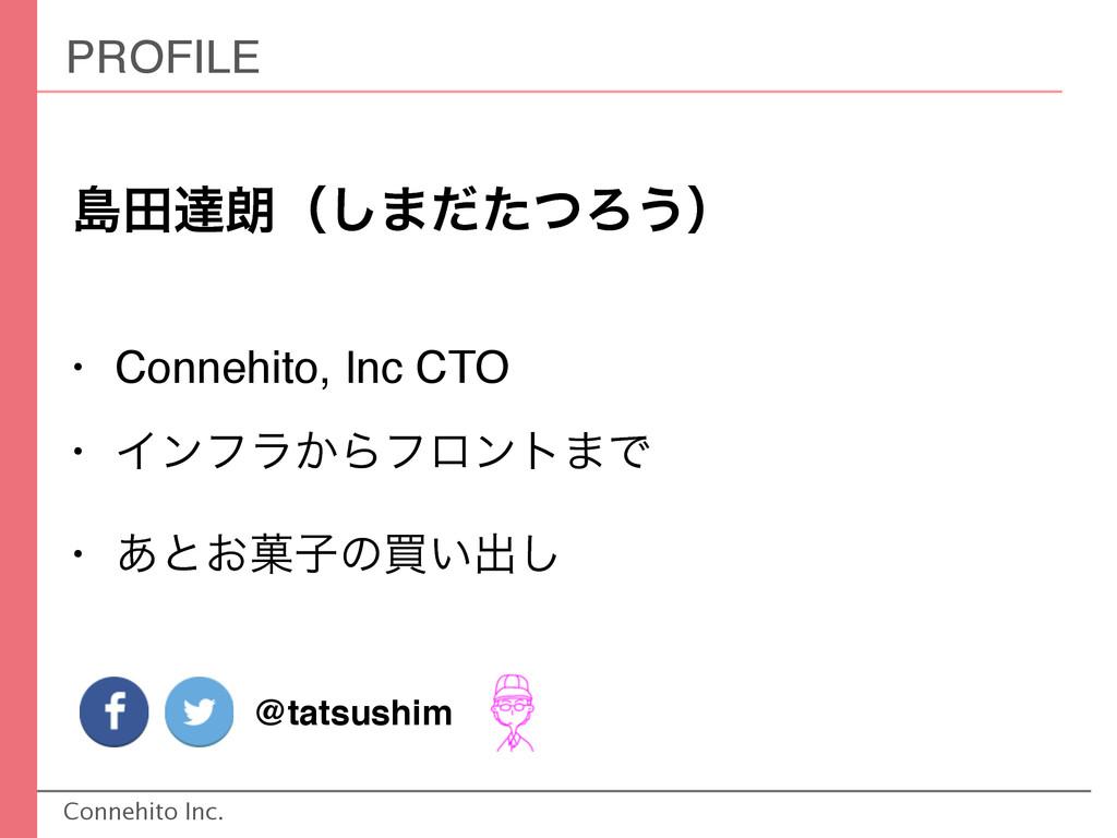 Connehito Inc. ౡాୡ࿕ʢ͠·ͩͨͭΖ͏ʣ • Connehito, Inc C...