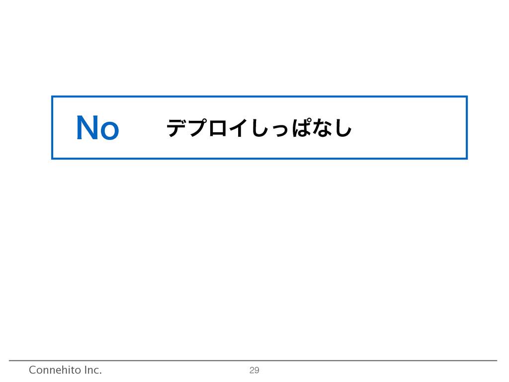 29 σϓϩΠͬ͠ͺͳ͠ Connehito Inc. /P