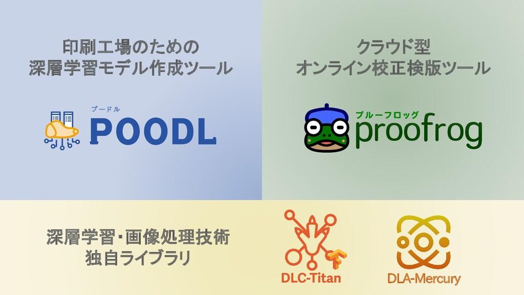 プ ー ド ル クラウド型 オンライン校正検版ツール DLA-Mercury 印刷工場のための...