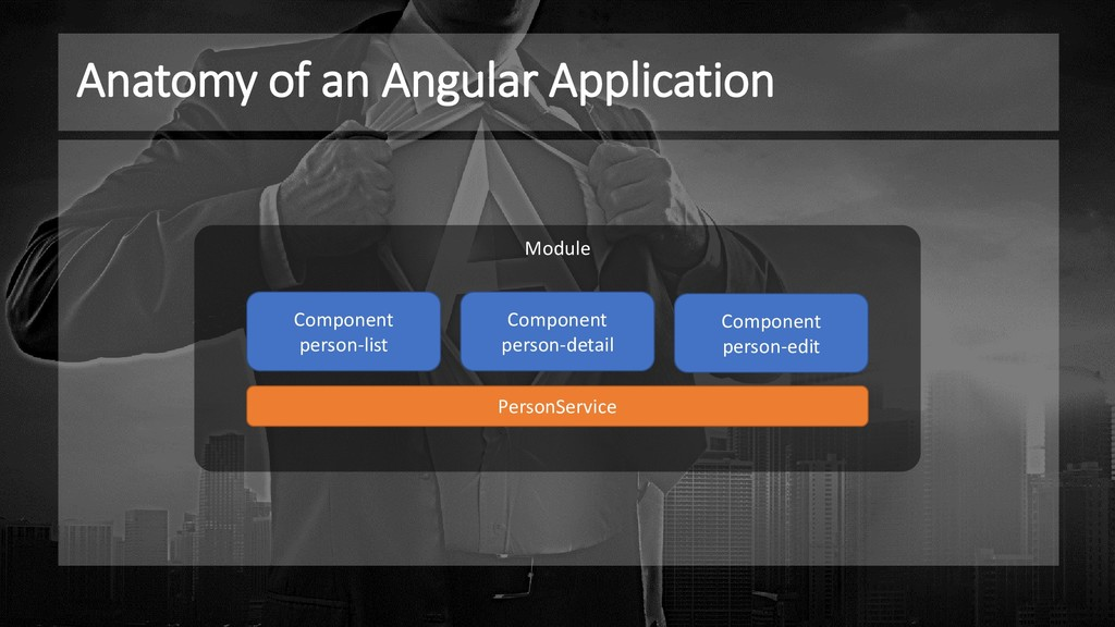 Module Anatomy of an Angular Application Compon...