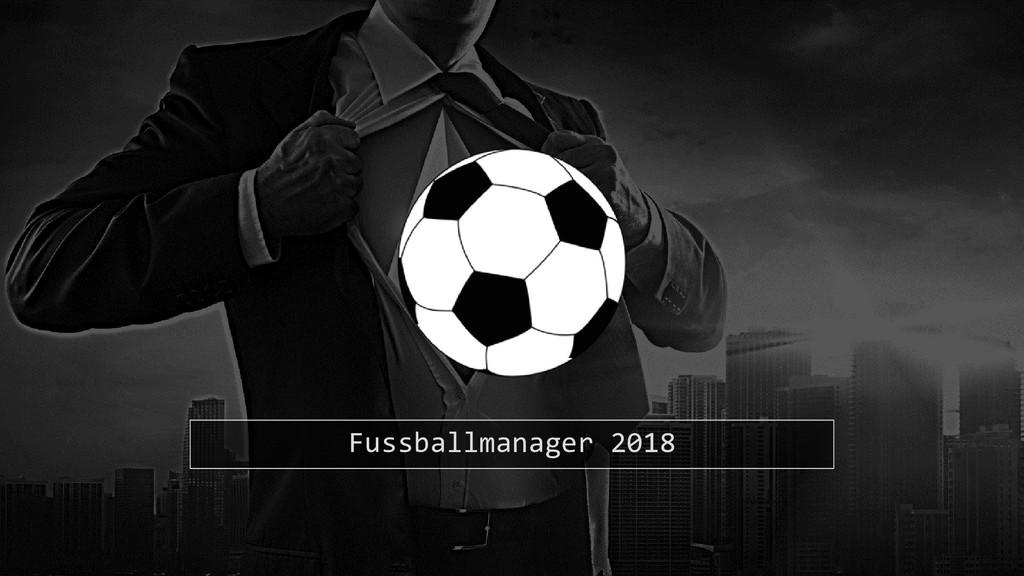 Fussballmanager 2018