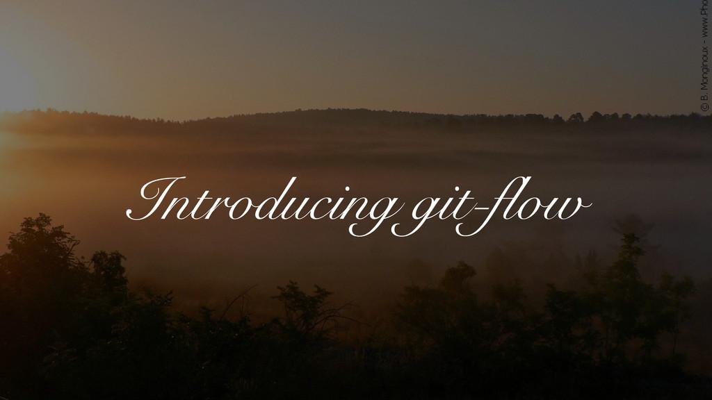 Introducing git-flow