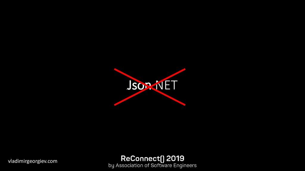 vladimirgeorgiev.com Json.NET