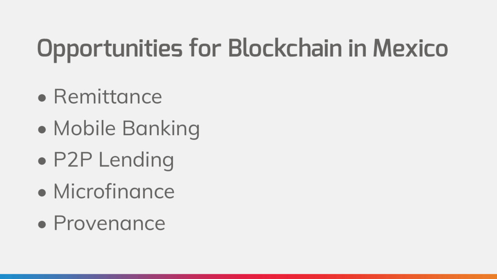 Opportunities for Blockchain in Mexico • Remitt...