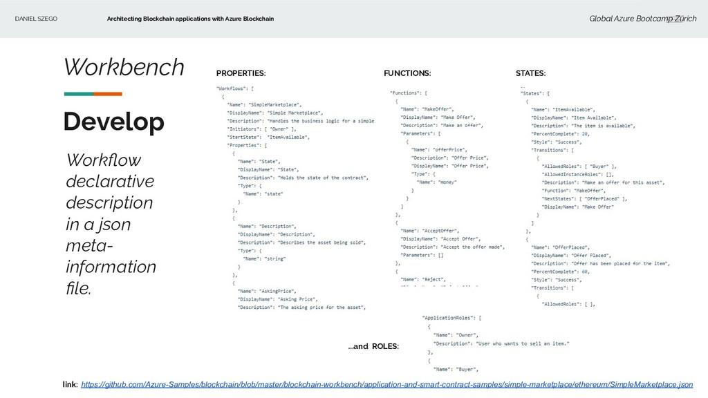 DANIEL SZEGO Architecting Blockchain applicatio...