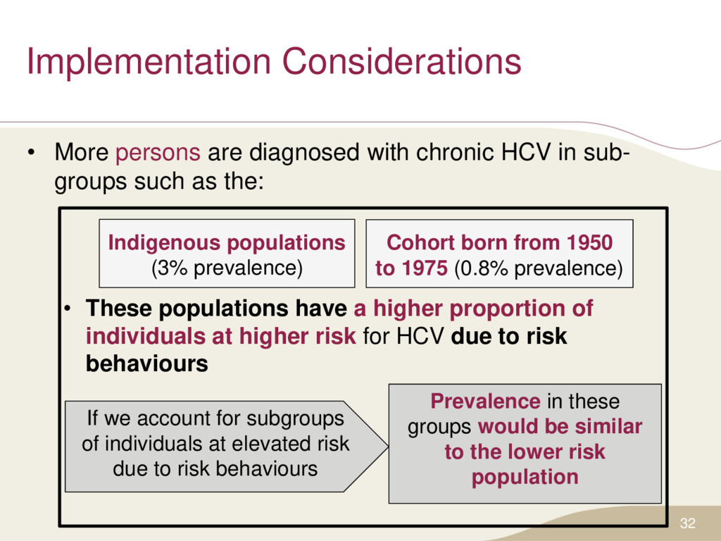Implementation Considerations • More persons ar...