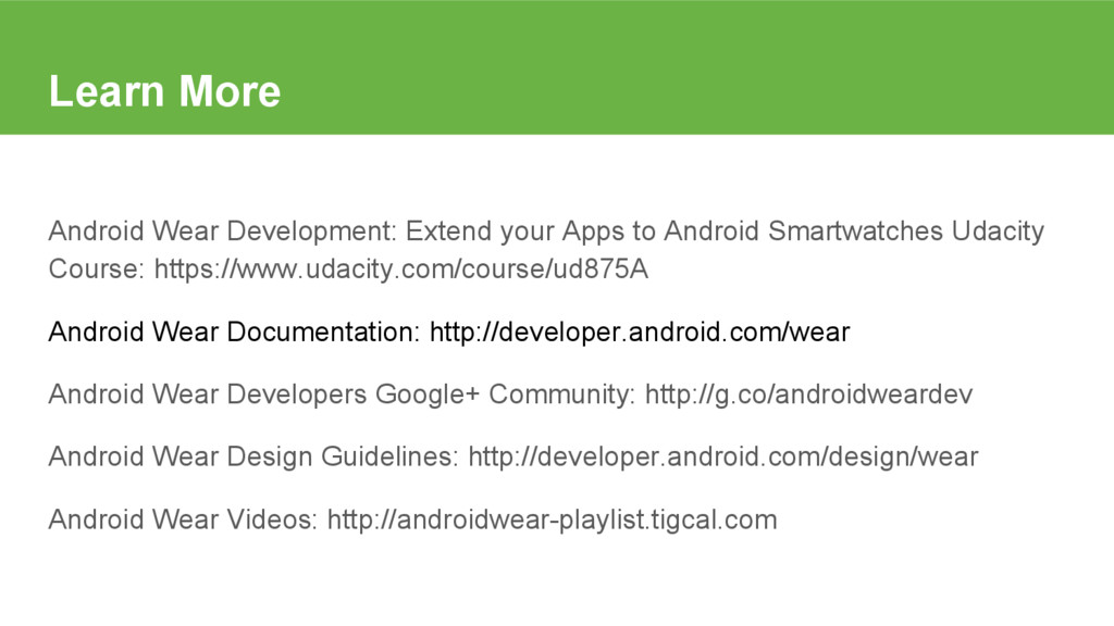 Learn More Android Wear Development: Extend you...