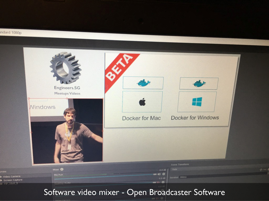 13 Software video mixer - Open Broadcaster Soft...