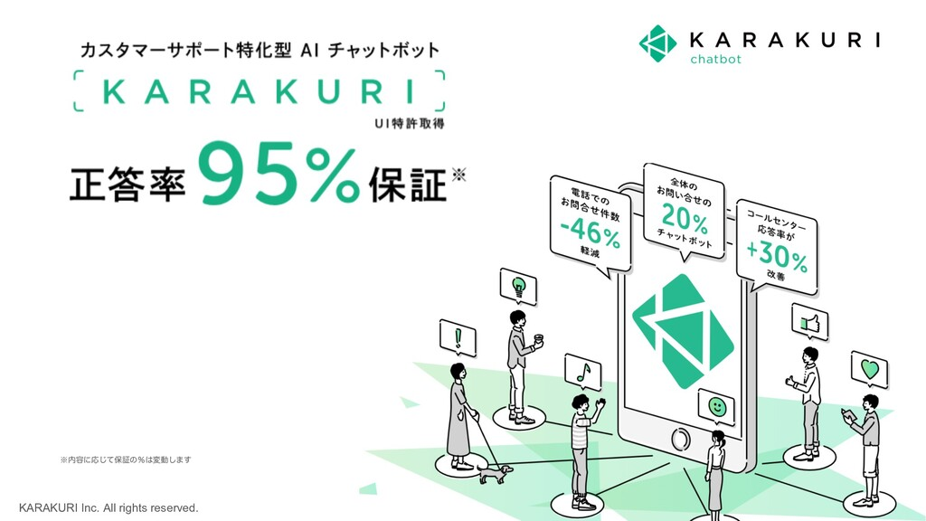 KARAKURI Inc. All rights reserved. 4 ˞಺༰ʹԠͯ͡อূͷ...
