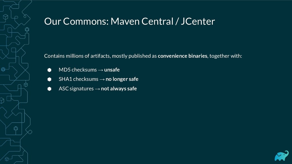 Our Commons: Maven Central / JCenter Contains m...