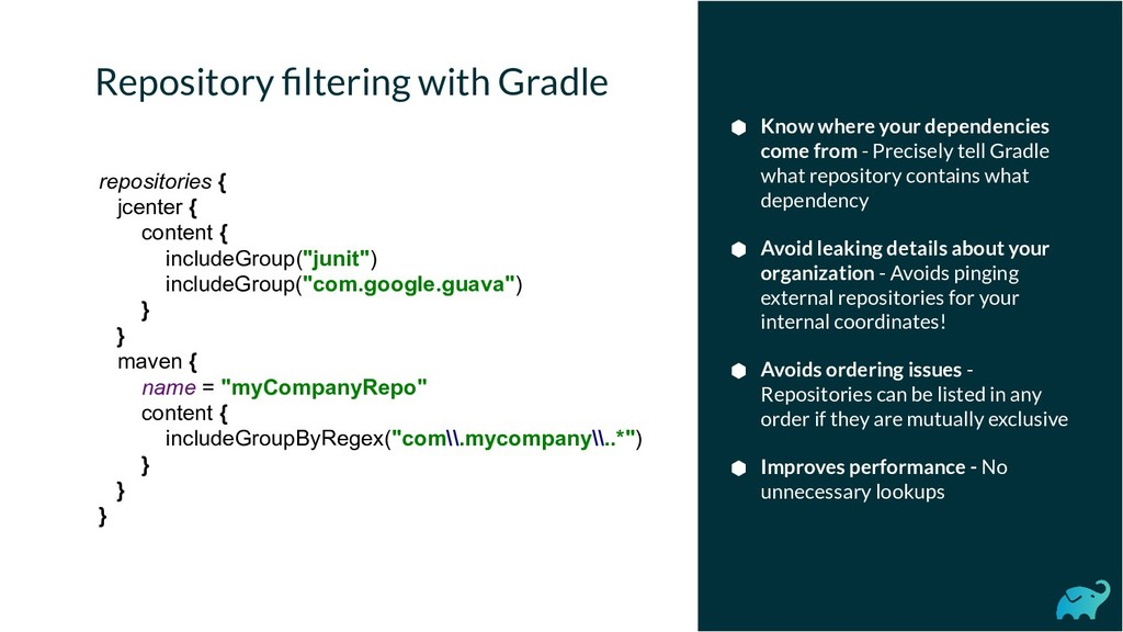 Repository filtering with Gradle ⬢ Know where yo...