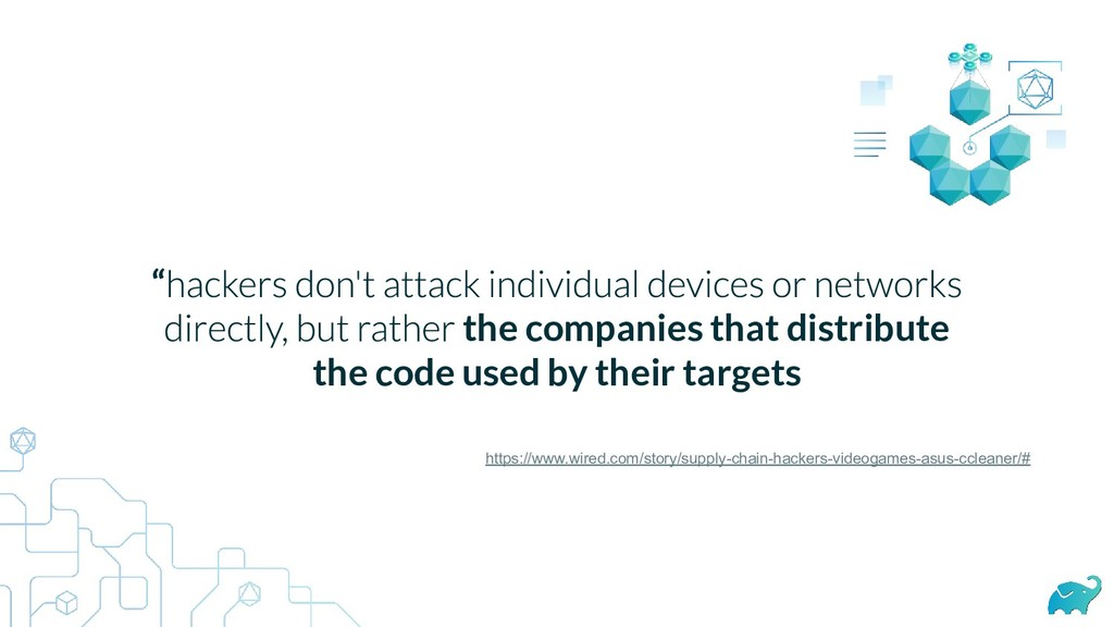 """ the companies that distribute the code used b..."