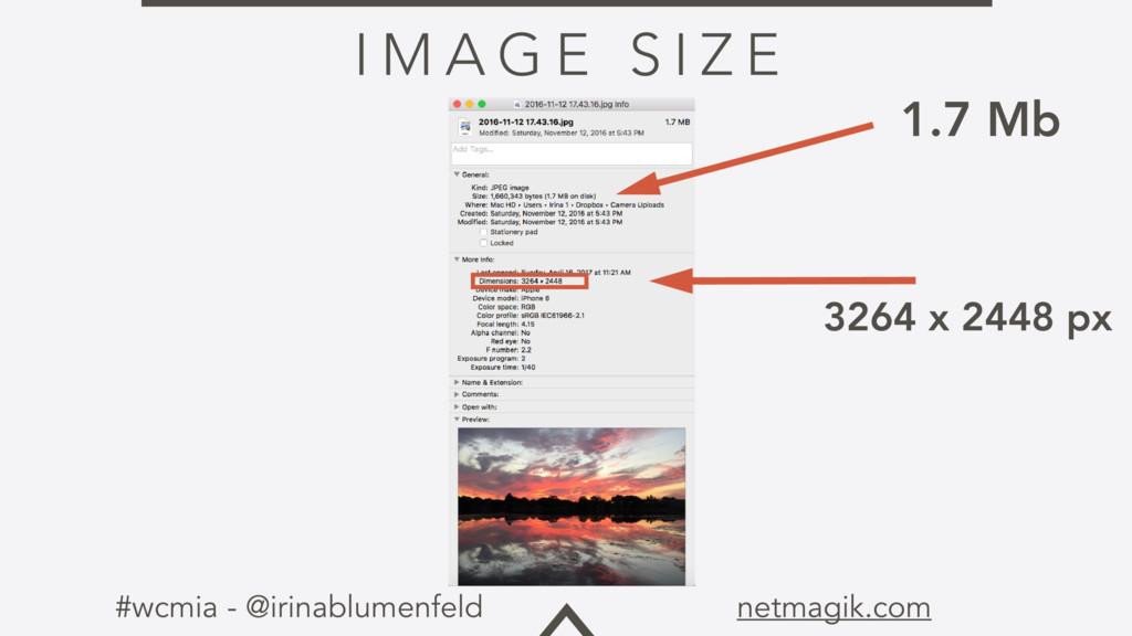 #wcmia - @irinablumenfeld netmagik.com I M A G ...
