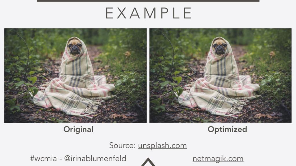 #wcmia - @irinablumenfeld netmagik.com E X A M ...