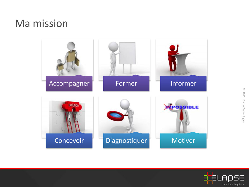 © 2013 Elapse Technologies Ma mission Accompagn...