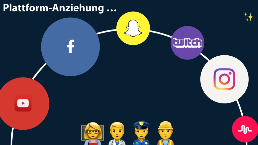 "Plattform-Anziehung … ""#$ ✨"