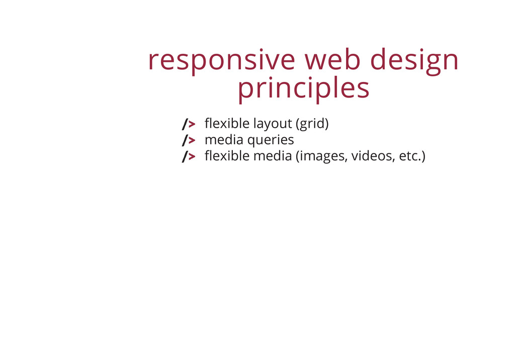 responsive web design principles flexible layou...