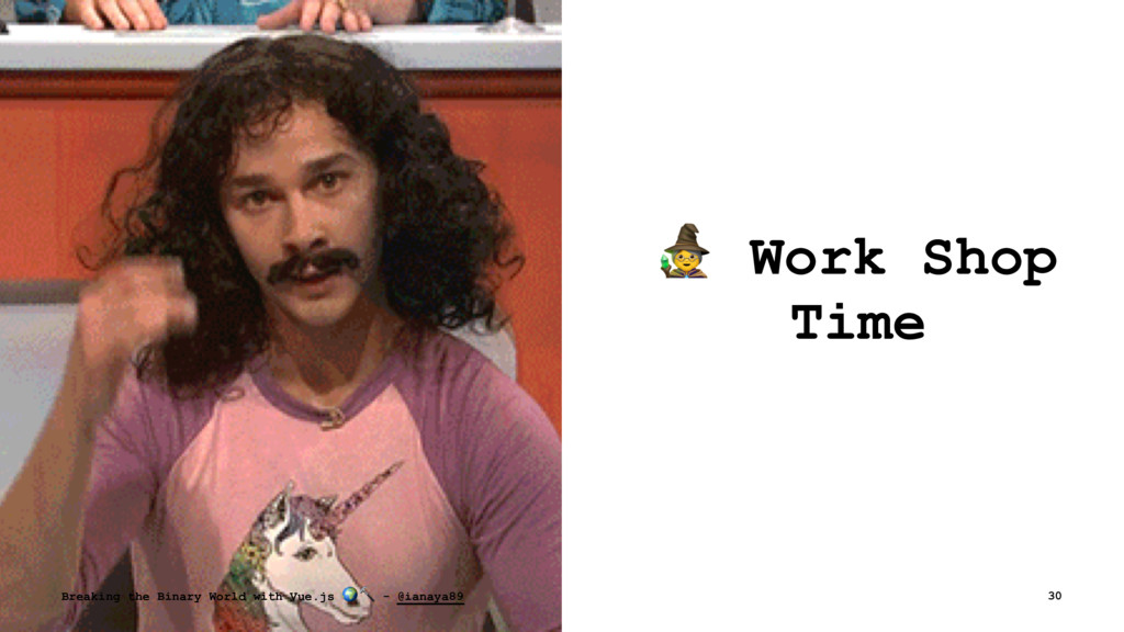 ! Work Shop Time Breaking the Binary World with...