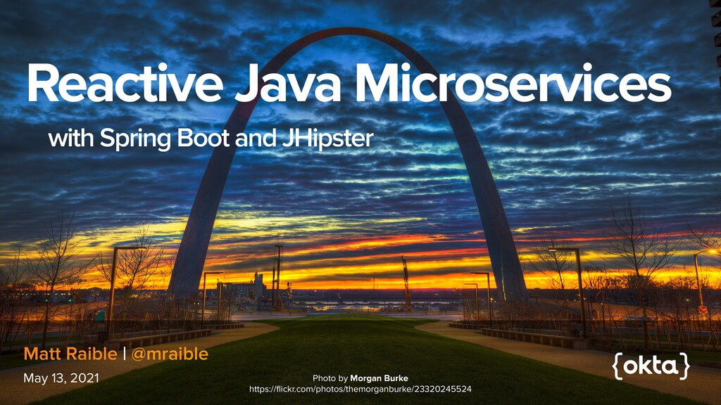Reactive Java Microservices   with Spring Boot ...
